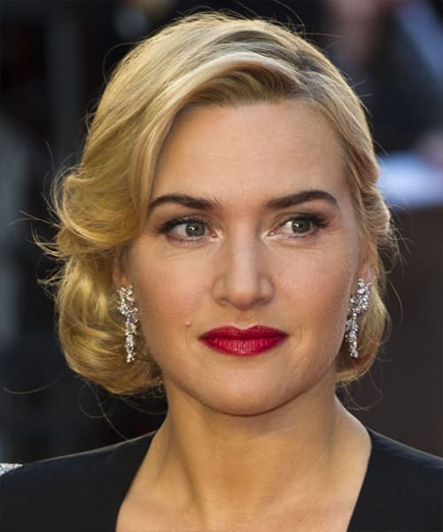 Kate Winslet  / image: thehairstyle.com